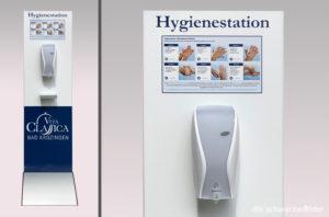 Desinfektionsständer Info